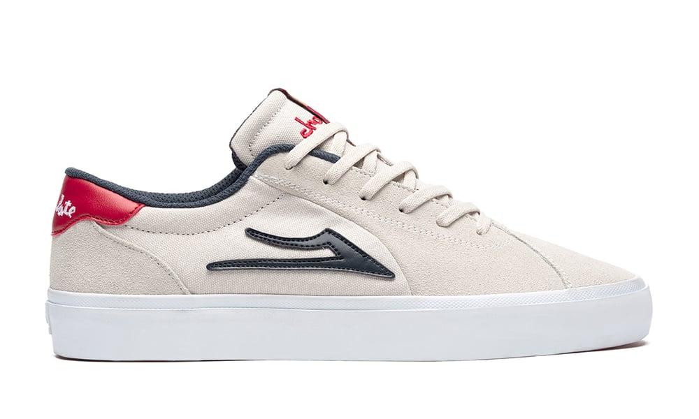 Image of Lakai x Chocolate Flaco 2 White Suede Shoes