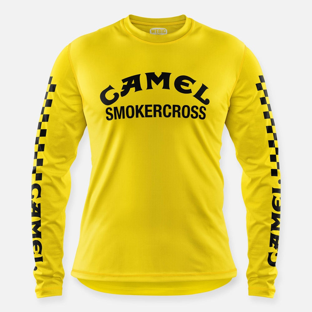 Image of CAMEL SMOKERCROSS JERSEY YELLOW