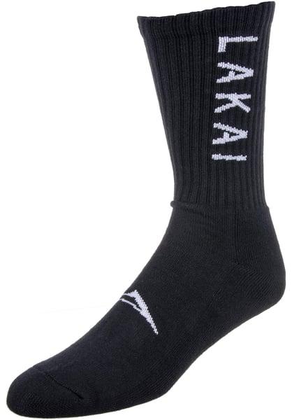 Image of Lakai Crew Socks - Cotton - Black