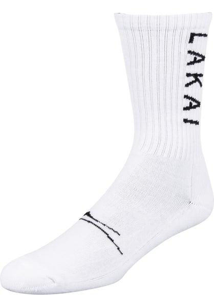 Image of Lakai Crew Socks - Cotton - White
