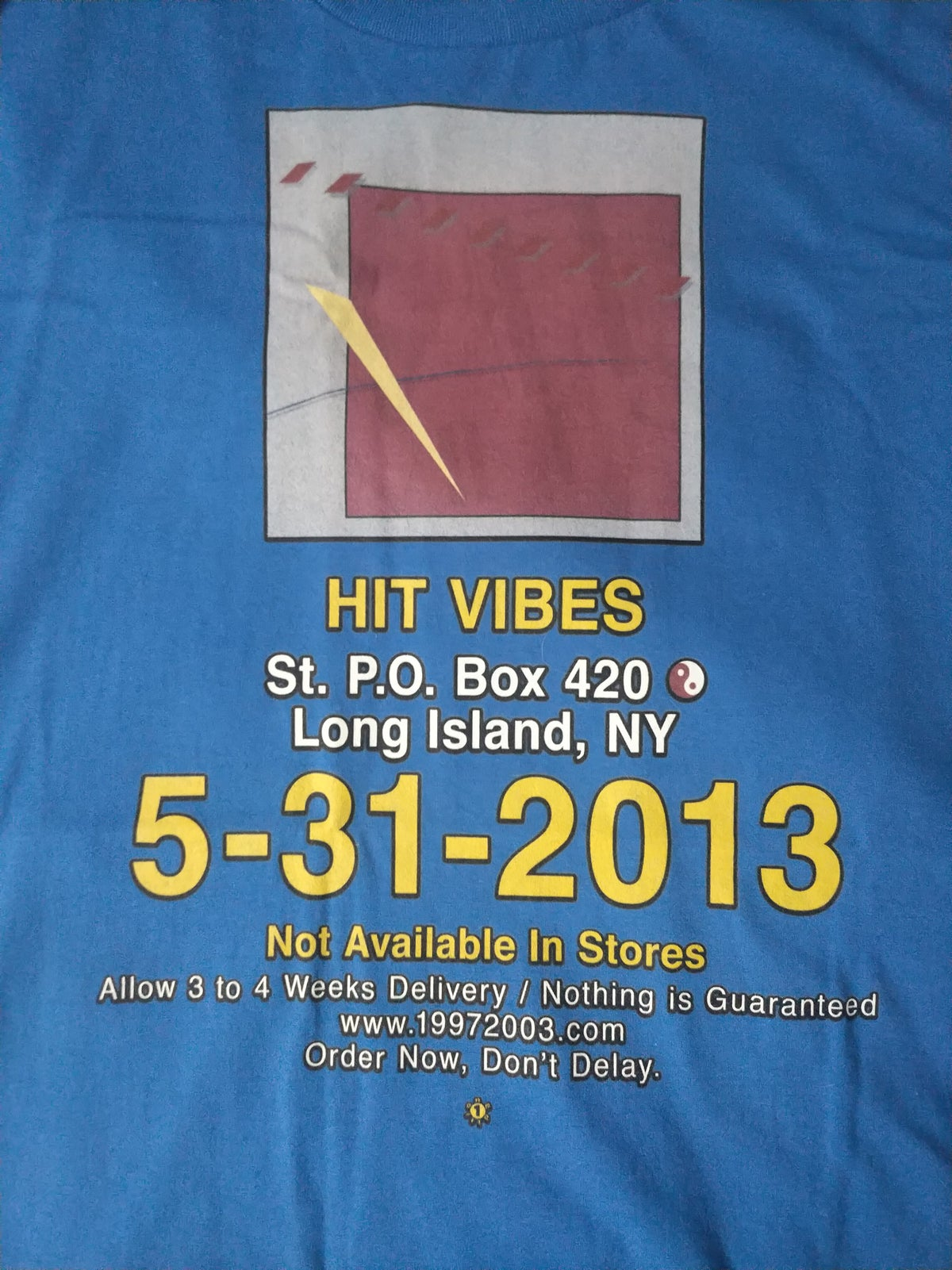 HIT VIBES [FIRST EDITION] - T-SHIRT