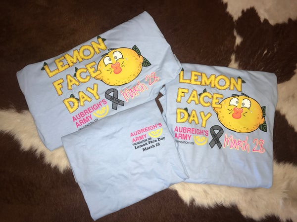 Image of Lemon Face Day T-shirts