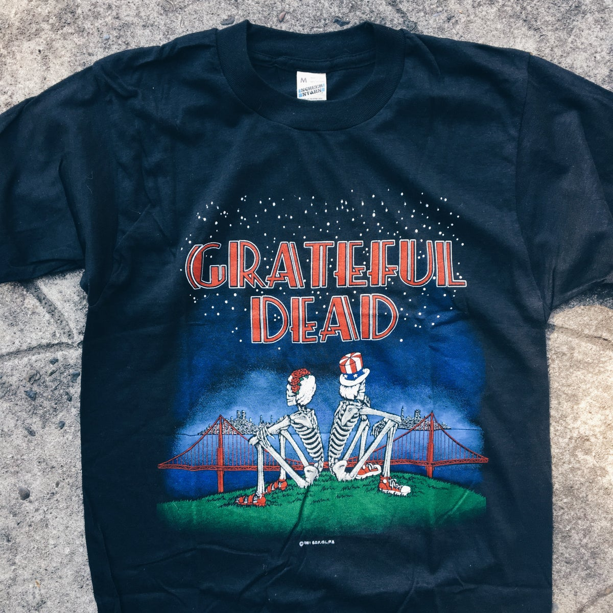 Image of Original 1981 Grateful Dead Tee.
