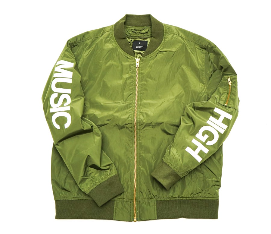 Image of *MMMH Bomber Jacket* Military Green (unisex)