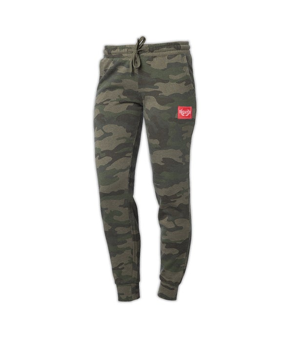 Image of Ladies Jogger - Green Camo