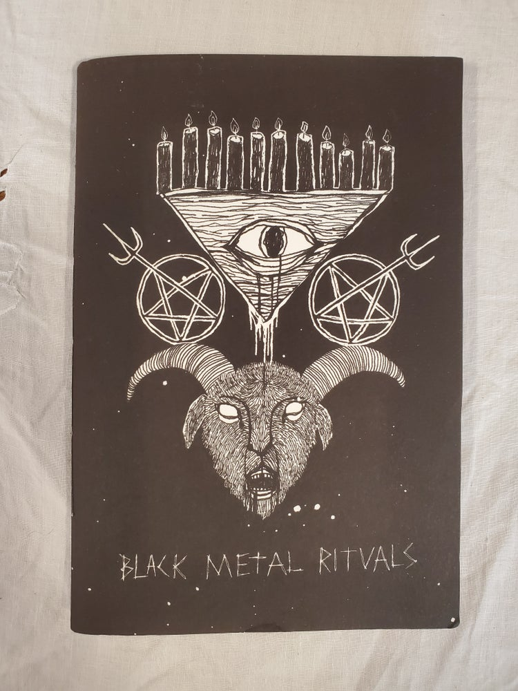 Image of Black metal art zine by Ali Horn