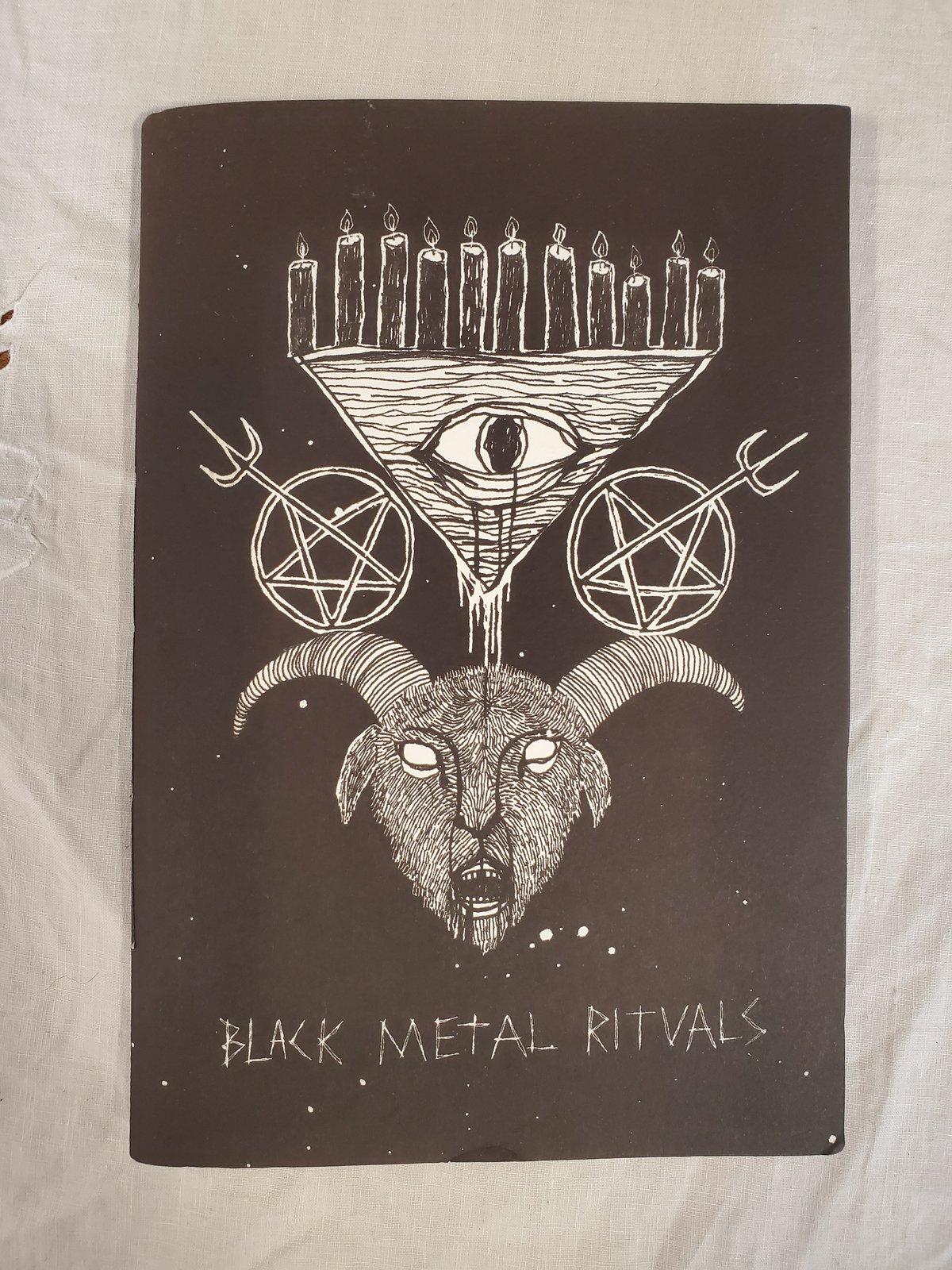 Image of Black metal art zine by Ali Horn
