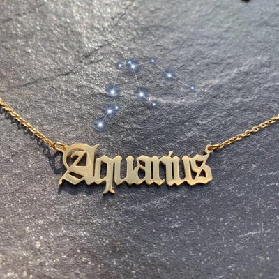 Image of Aquarius Necklace