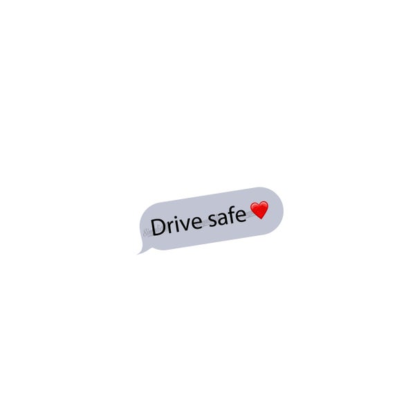 Image of Drive Safe Decal