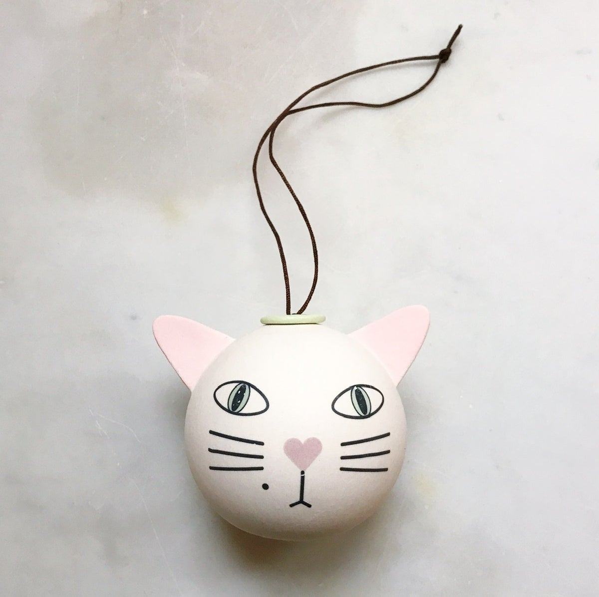 Image of Cat - ornament // medium