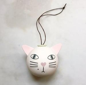 Image of Cat - ornament // medium