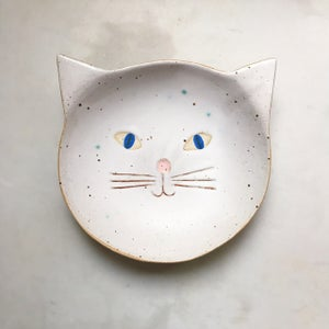 Image of Cat - white // deep dish