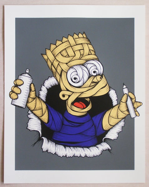 Image of Otto Schade - Gold Ribboned Bart