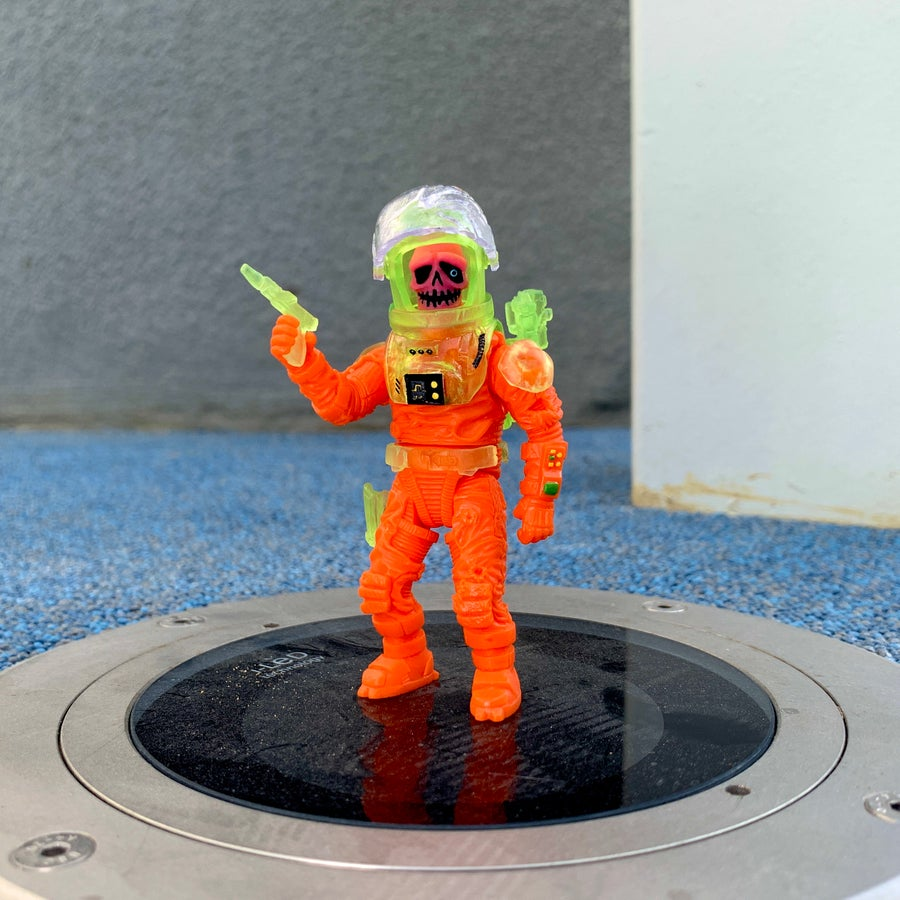 Image of Cosmos Cold: Tim (Neon Green/Orange) [Pre-order: ships on May/June 2020]