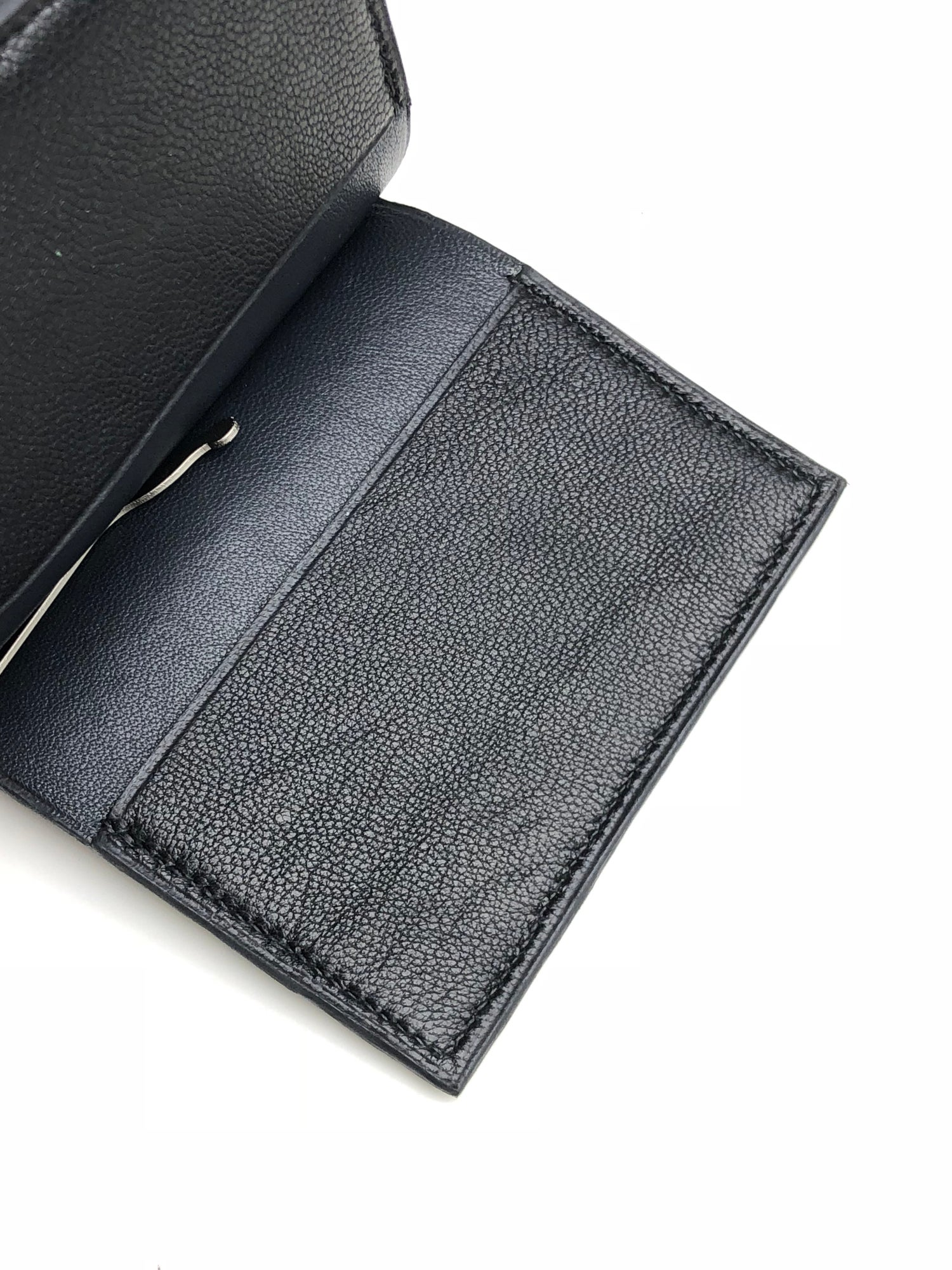 "Image of Stingray ""clip"" cardholder - dark grey"