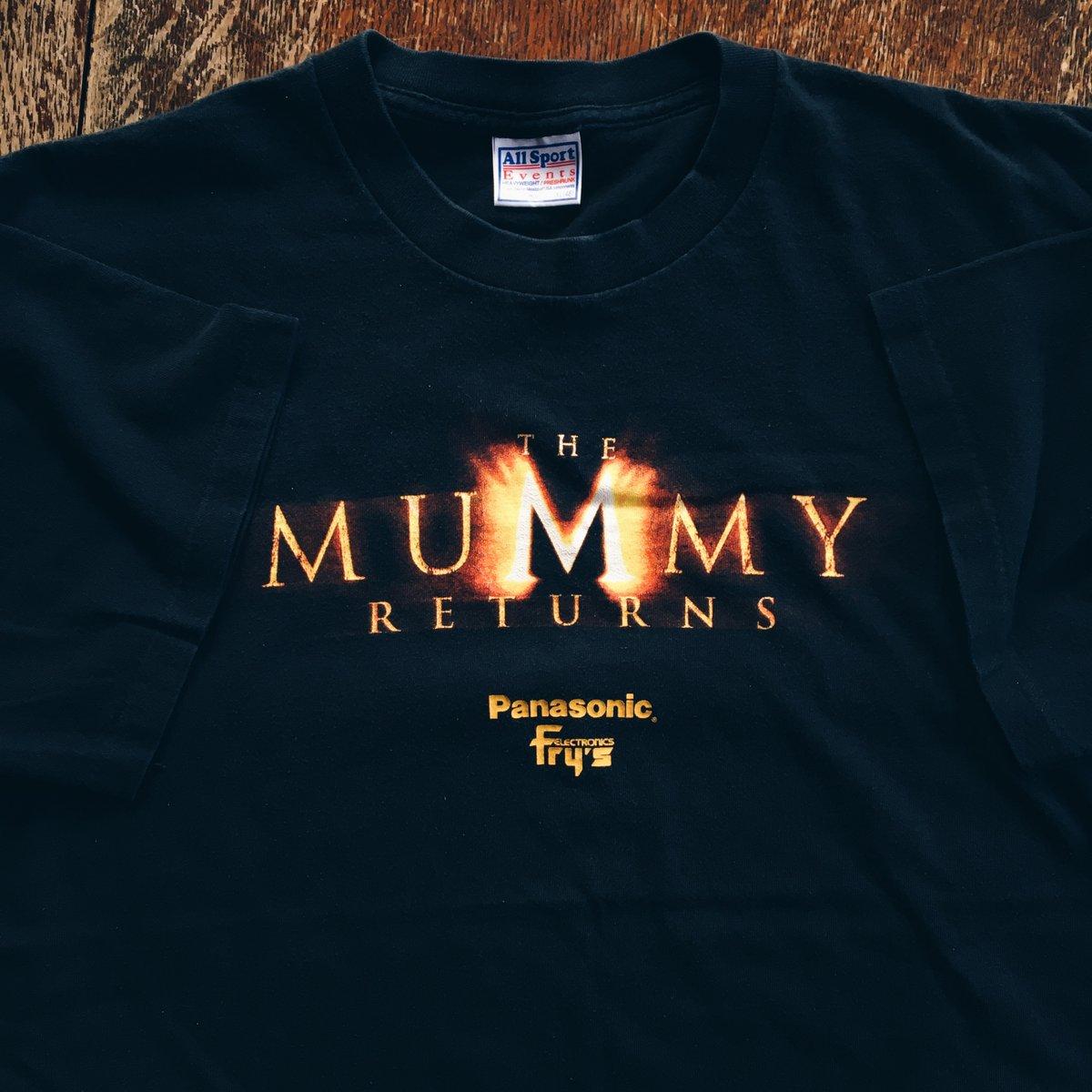 Image of Original 2001 The Mummy Returns Movie Promo Tee.