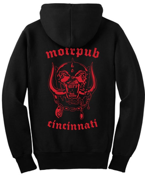 Image of MOTR Head Zip Front Hoody