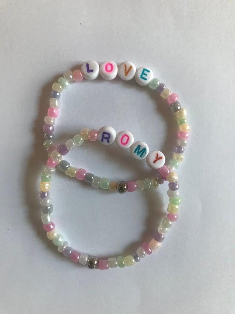 Image of Bracelet Perles de rocaille