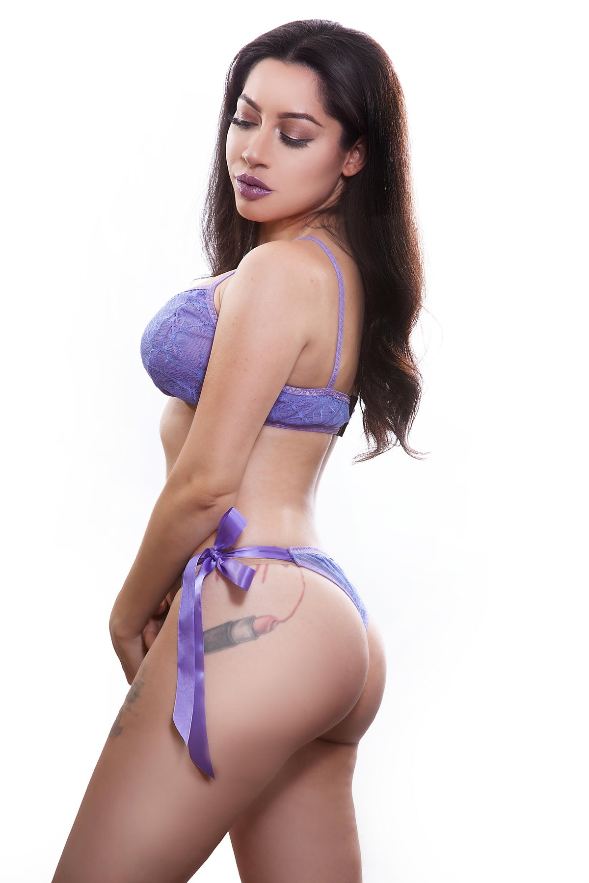Image of Lavender Spiderweb Set
