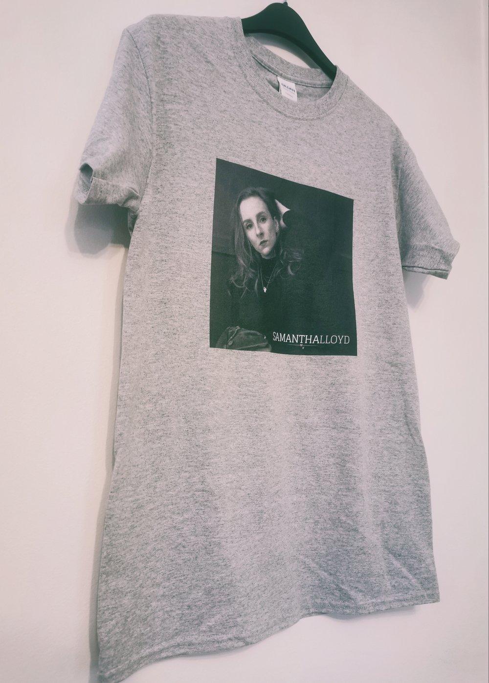 Image of Samantha Lloyd Official T-Shirt Grey