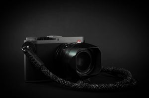 Image of Lite camera strap / Black chiné