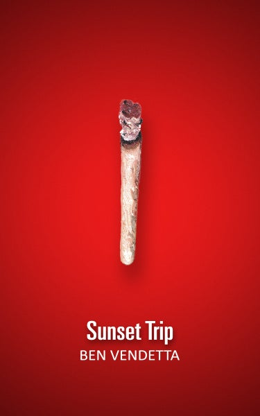 Image of Sunset Trip - paperback book
