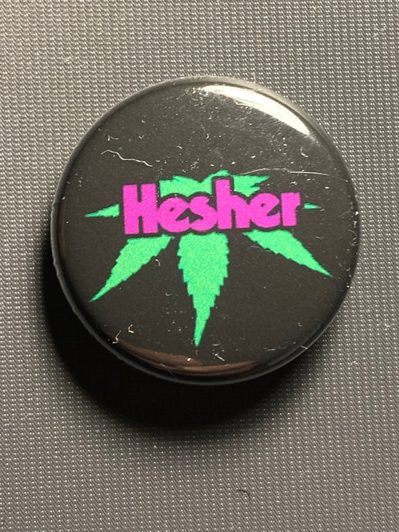 "Image of HESH 1"" BUTTONS OF DOOM"