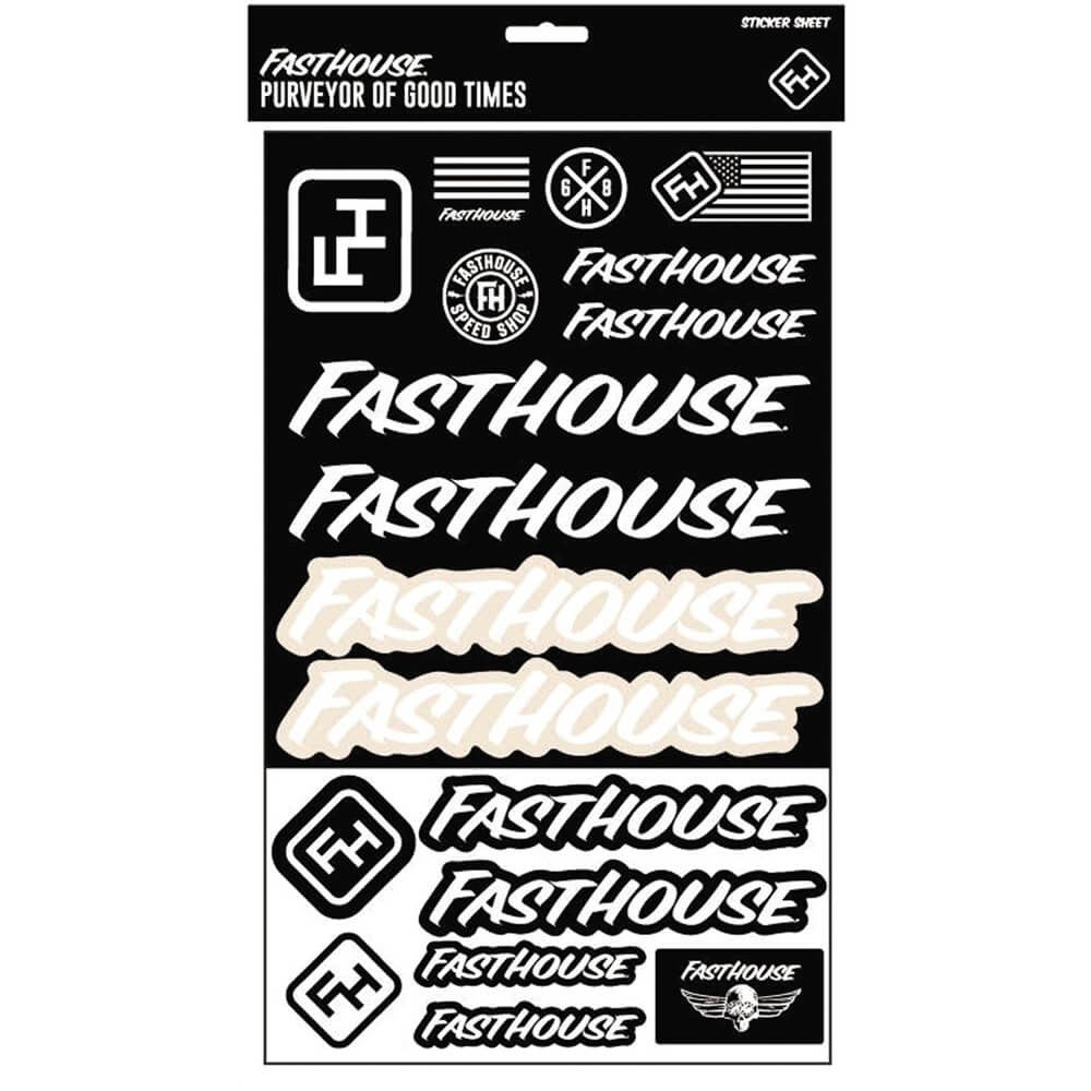 Image of Fasthouse Sticker Sheet
