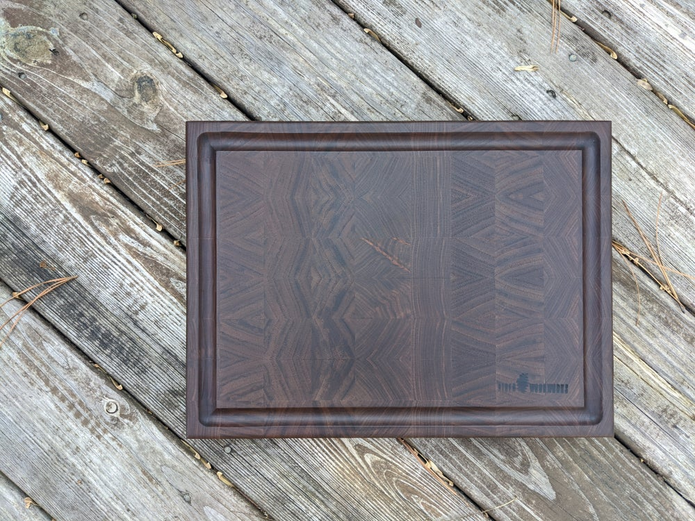 Image of Artisan Cutting Board, Local Virginia Black Walnut