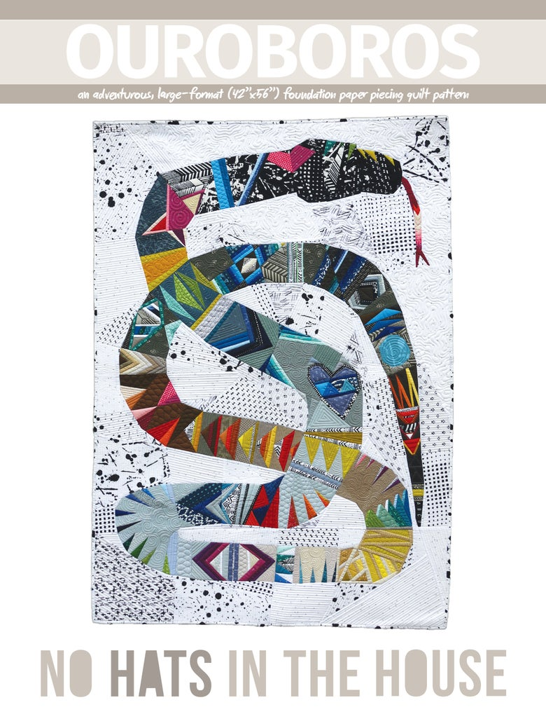 Image of Ouroboros Quilt Pattern (PRINT)
