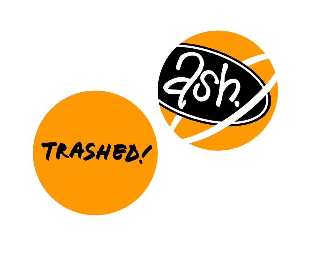 Image of Trashed! Badge Set
