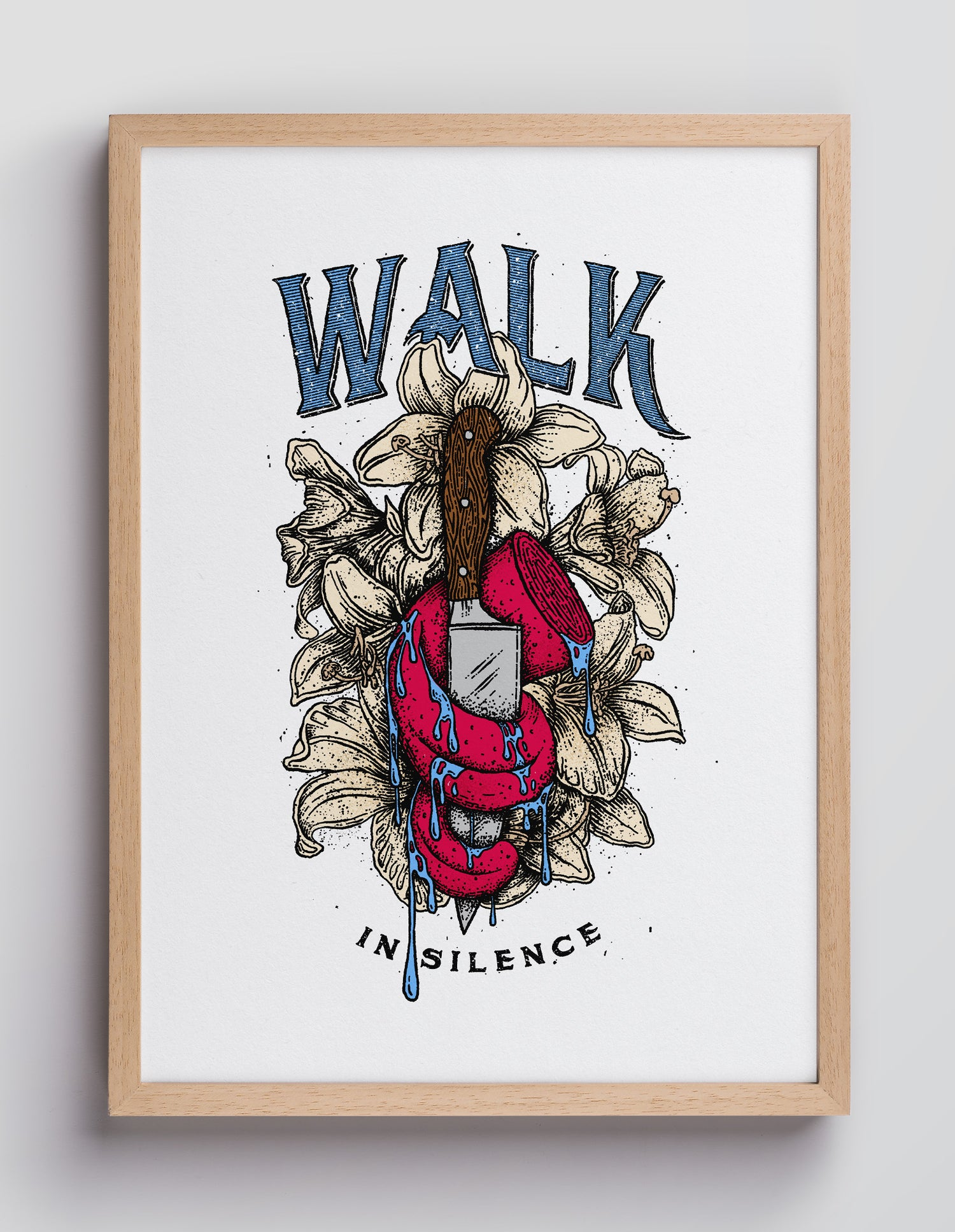 Image of Walk in Silence – DIN A4