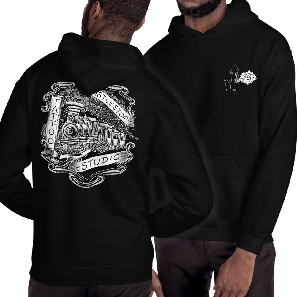 Whistle Stop Logo Pullover Hoodie
