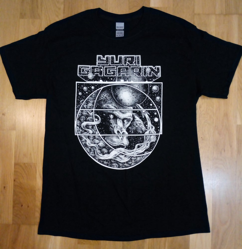 Image of Black Space Monkey T-Shirt