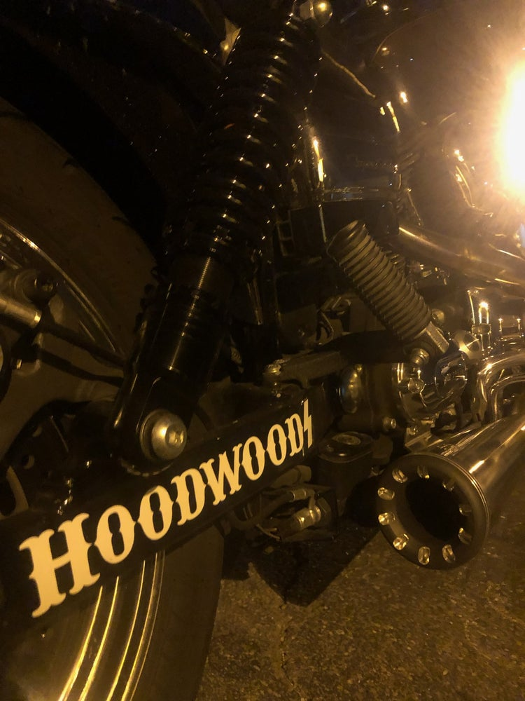 Image of Swing arm decal