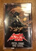 Image of SAVAGE MASTER 'Myth, Magic and Steel' cassette