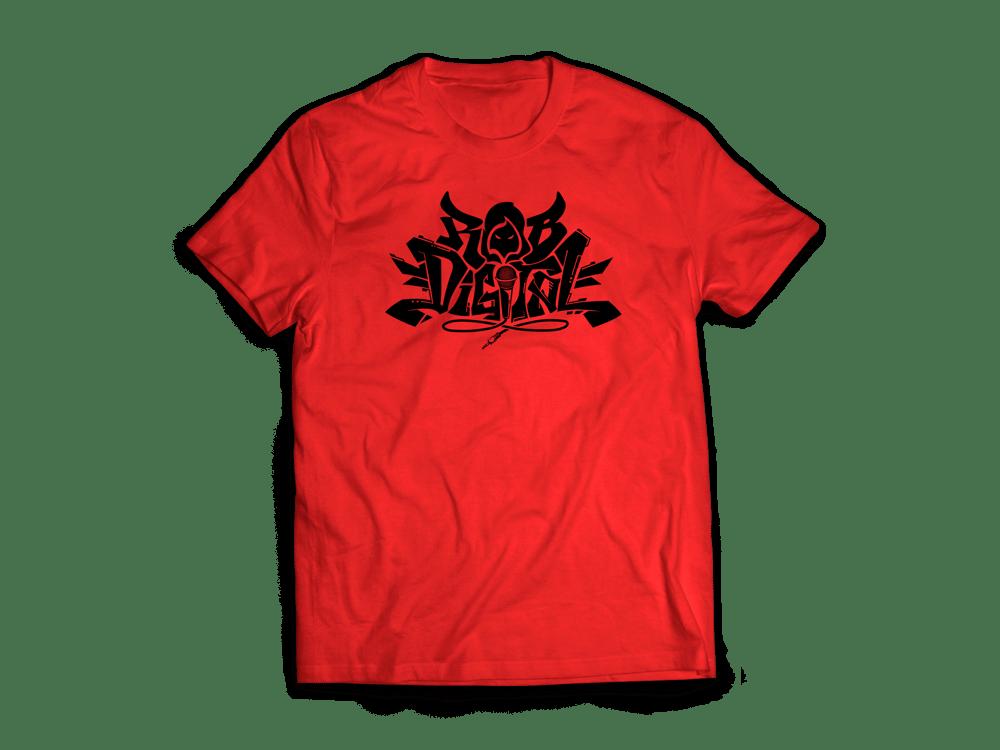 Image of Rob Digital Logo T shirt