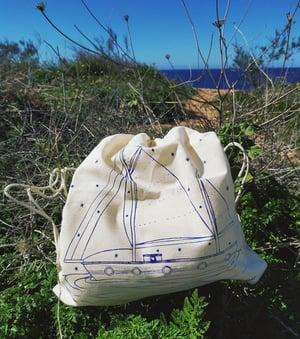 Image of Backpack sailingboat