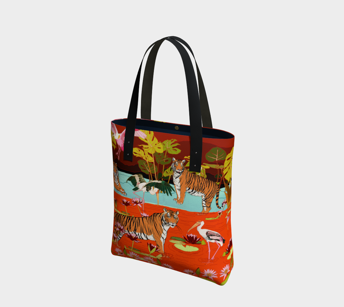 Image of Tote Bag in Swamp Paradise