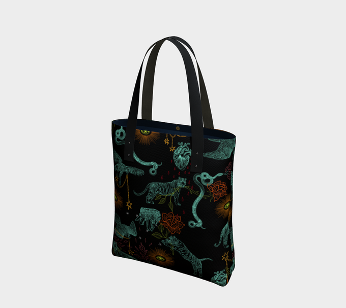 Image of Tote Bag in Protectors print