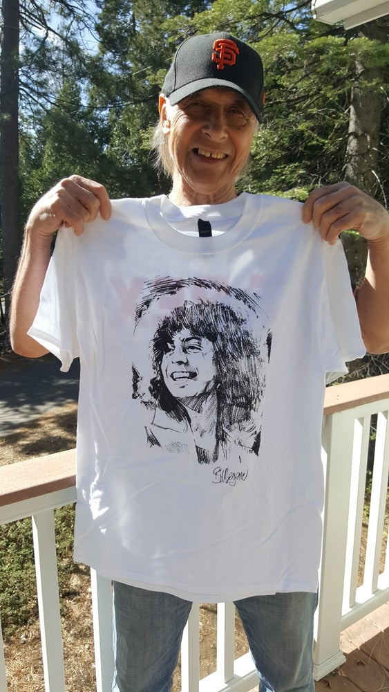"Image of ""That Smile"" Tshirt/ personally signed by Bill"