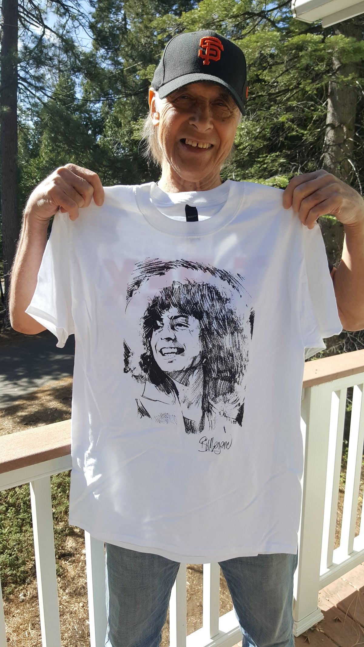 """Image of """"That Smile"""" Tshirt/ personally signed by Bill"""
