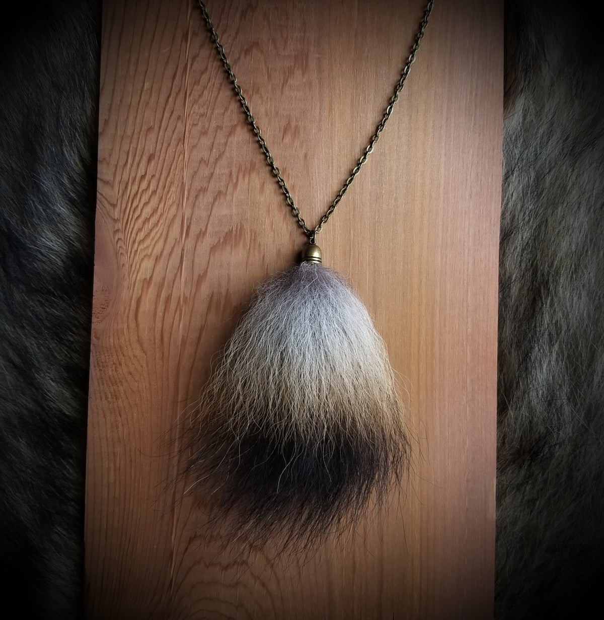 Image of Wolf Tail Necklace