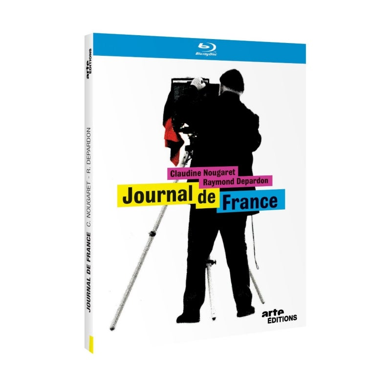 Image of JOURNAL DE FRANCE- DEPARDON - BLU RAY