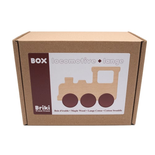 Image of Box Locomotive + lange