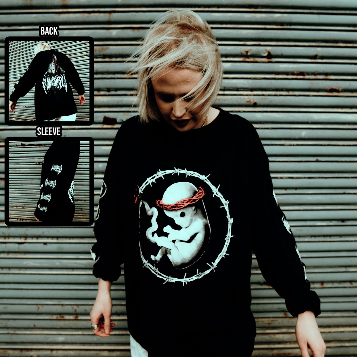 Image of 'WEEPING MARY LONGSLEEVE'