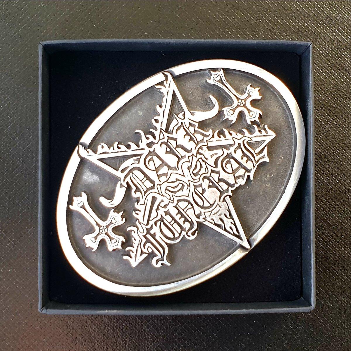Image of Dark Funeral - LTD Handmade Belt Buckle