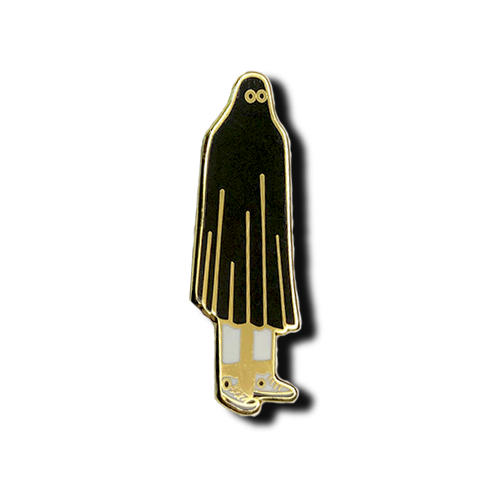 Image of Mr. Ghost - Inverted Black Variant