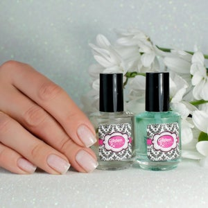 Image of Glisten & Glow Top Coat & Base Coat Duo