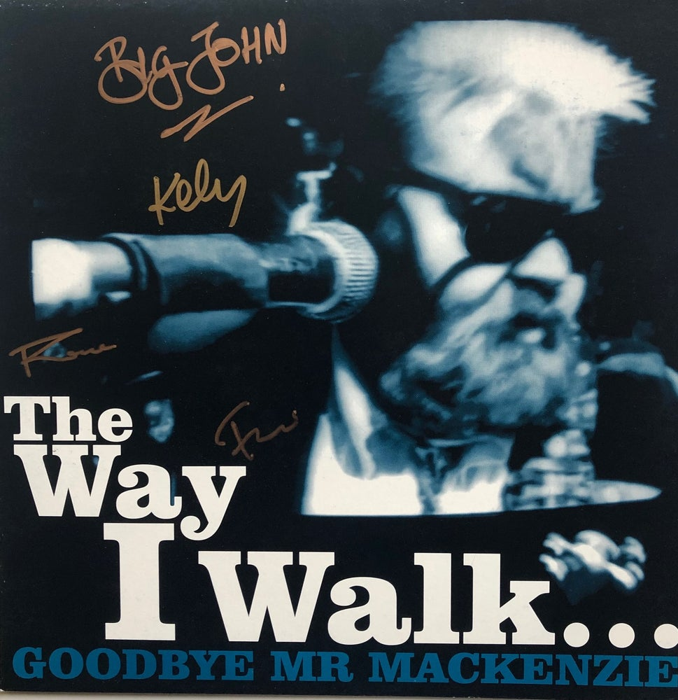 "Image of Original Signed 'THE WAY I WALK' 12"" Vinyl EP"